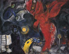 The Falling Angel c1922 - Marc Chagall