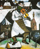 The Fiddler c1912 - Marc Chagall