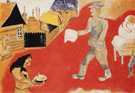 Purim c1916 - Marc Chagall