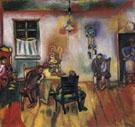 The Sabbath 1910 - Marc Chagall