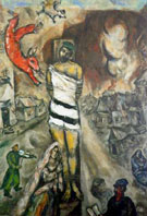 The Martyr 1940 - Marc Chagall