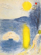 Daphnis and Chloe 1961 - Marc Chagall