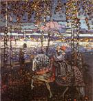 Couple Riding 1906 - Wassily Kandinsky