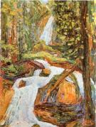 Kochel Waterfall I 1900 - Wassily Kandinsky
