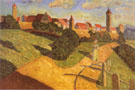 Old Town II 1902 - Wassily Kandinsky