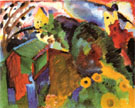 Murnau Garden I 1910 - Wassily Kandinsky