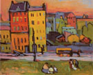 Houses in Munich 1908 - Wassily Kandinsky