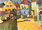 Grungasse in Murnau 1909 - Wassily Kandinsky