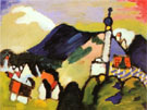 Murnau with Church II 1910 - Wassily Kandinsky