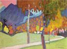 Autumn Study near Oberau 1908 - Wassily Kandinsky