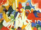 Oriental 1909 - Wassily Kandinsky