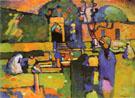 Arabs I Cemetery 1909 - Wassily Kandinsky