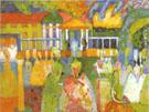 Crinolines 1909 - Wassily Kandinsky
