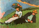 Jawlensky and Werefkin 1908 - Wassily Kandinsky