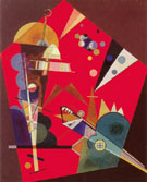 Tension in Red 1926 - Wassily Kandinsky