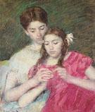 The Crochet Lesson 1913 - Mary Cassatt