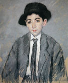Portrait of Charles Dikran Kelekian Aged 12 1910 - Mary Cassatt