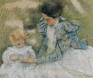Mother Playing with her Child 1897 - Mary Cassatt