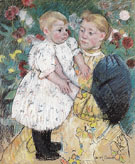 In the Garden 1893 - Mary Cassatt