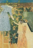 Gathering Fruit 1895 A - Mary Cassatt