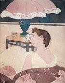 The Lamp 1891 - Mary Cassatt