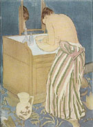 Woman Bathing 1891 - Mary Cassatt