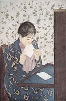The Letter 1891 - Mary Cassatt