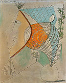 Head of a Woman 1936 - Pablo Picasso