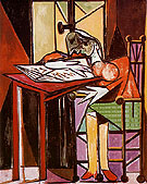 Woman Reading 1935 - Pablo Picasso