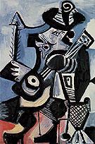 Musician 1972 - Pablo Picasso