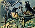 Landscape 1972 - Pablo Picasso