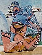 Flute Plaryer 1971 - Pablo Picasso