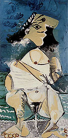 Woman Pissing 1965 - Pablo Picasso