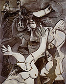 The Abduction of Sabine Woman 2 1962 - Pablo Picasso