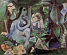 Le Dejeuner sur I Herbe 1961 - Pablo Picasso