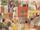 Red and Yellow Houses in Tunis 1914 - Paul Klee