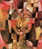Head with German Moustache 1920 - Paul Klee