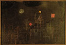 Pavillion Decked with Flags 1927 - Paul Klee