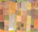 Quarry at Ostermundingen 1915 - Paul Klee