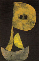 Severe Countenance 1939 - Paul Klee