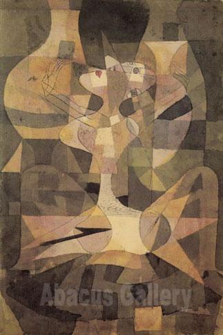 Paul Klee Aphrodites Vases Or Ceramic Erotic Religious 1921