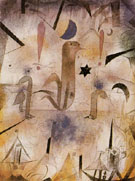 Warning of the Ships 1917 - Paul Klee