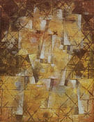 God of the Northern Woods 1922 - Paul Klee
