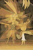 Spirits Figures from a Ballet 1922 - Paul Klee
