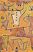 Red Waistcoat 1938 - Paul Klee