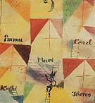 The Bavarian Don Giovanni 1919 - Paul Klee