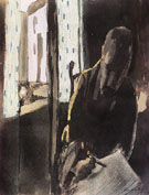 The Artist at the Window 1909 - Paul Klee