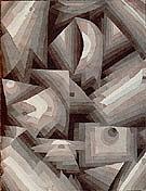 Crystal Gradation 1921 - Paul Klee