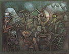 Carnival in the Mountains 1924 - Paul Klee