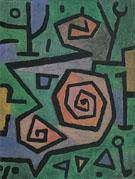 Heroic Roses 1938 - Paul Klee